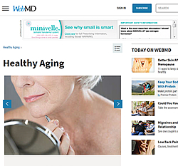 WebMD Healthy Aging Tips